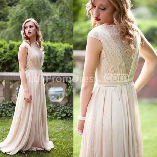 Jieruize White Simple Backless Wedding Dresses 2019 Ball: 49%OFF Long A-line Sleeveless Prom Dresses 2019 Chiffon