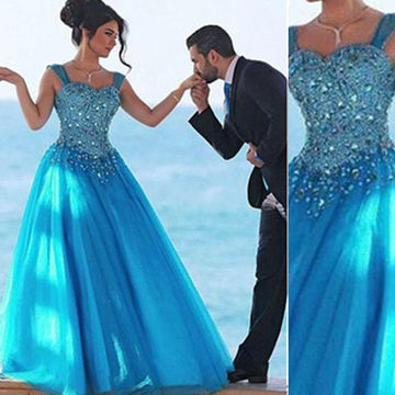 Aqua colored prom dresses 2018