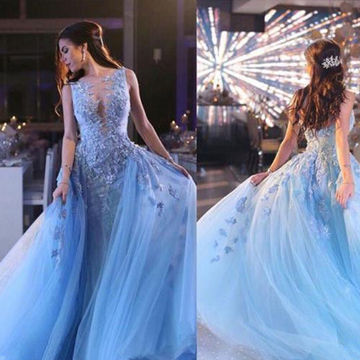 Ball Gown Evening Tulle/Pageant/Formal/Prom Dresses 2017
