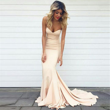 49%OFF Long Mermaid Sweetheart Sleeveless Zipper Prom Dresses 2018 ...