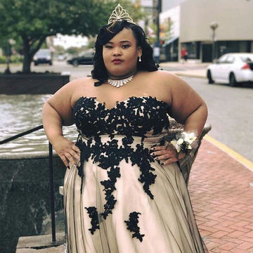 Long Plus Size African Sheath Sweetheart Sleeveless Zipper Appliques Prom Dresses 2018 Sexy
