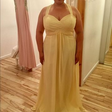 Cheap Long Plus Size A-line Halter Sleeveless Zipper Ruched Prom Dresses 2018 Chiffon