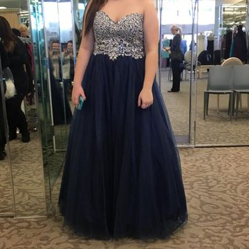 Long Prom Dresses 2018 A-line Strapless Sleeveless Open Back Sexy Plus Size