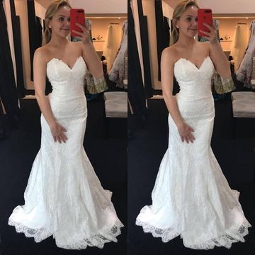 Long Wedding Dresses 2018 Mermaid