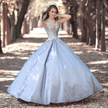 Long Prom Dresses 2018 Ball Gown
