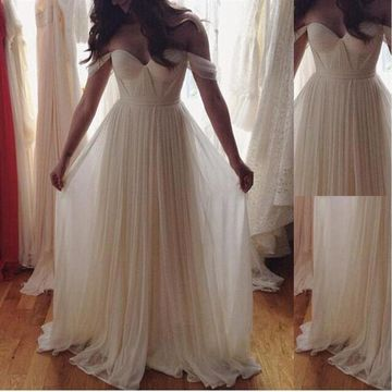 df6409143ea 49%OFF Long Elegant White A-line Sleeveless Zipper Pleats Prom Dresses 2019  Chiffon Sexy For Short Girls – lolipromdress.com