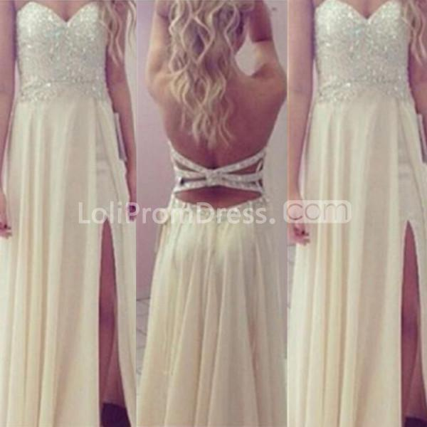 Jieruize White Simple Backless Wedding Dresses 2019 Ball: 49%OFF Long Sexy A-line Sweetheart Sleeveless Backless