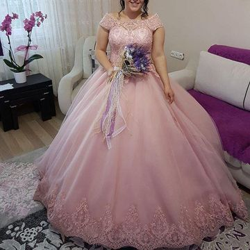 Long Wedding Dresses 2020 Ball Gown Plus Size
