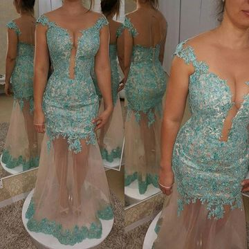 Long Prom Dresses 2019 Mermaid