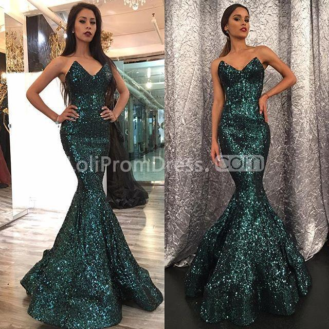 49 Off Green Long Prom Dresses 2019 Mermaid Sleeveless