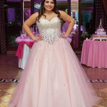 81fbd0f648b 49%OFF Long Plus Size Ball Gown Sweetheart Sleeveless Zipper Beading ...