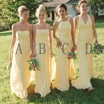 ed32f445ff 10 Best Cheap Yellow Bridesmaid Dresses 2019 FREE Shipping Today