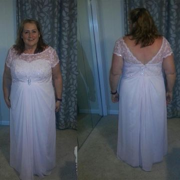 49%OFF White Long Mother of Bride Dresses 2019 A-line Plus Size ...