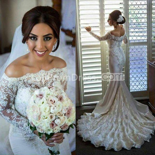 Jieruize White Simple Backless Wedding Dresses 2019 Ball: 49%OFF White Long Wedding Dresses 2019 Mermaid Long
