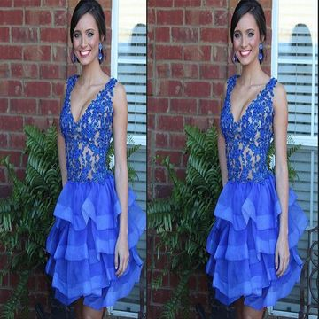 Blue Graduation Dresses
