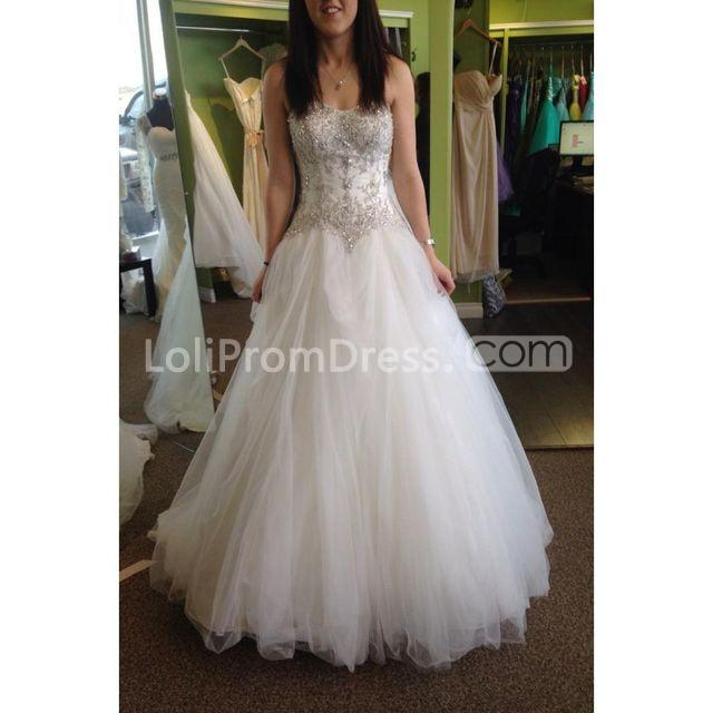 49 Off Long Wedding Dresses 2019 Ball Gown Sleeveless Lolipromdress