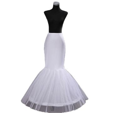 One Hoop Mermaid Wedding Petticoat
