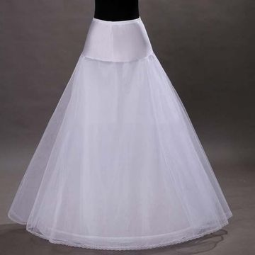 Tulle A-Line 2 Tier Floor Length Slip Style/Wedding Petticoats