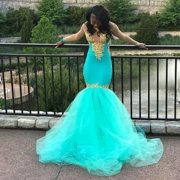 African Prom Dresses 2019 Black Girls Prom Dresses Free Shipping
