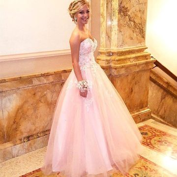 8be86d1244c 49%OFF Long Prom Dresses 2019 Ball Gown Sleeveless – lolipromdress.com