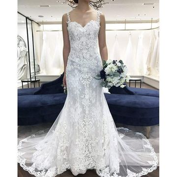 49 Off Straps Mermaid Lace 2019 Beach Wedding Dress Lolipromdress Com