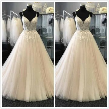 Formal Princess Gorgeous White A-line Sleeveless Natural Waist Prom Dresses 2019 Floor-length