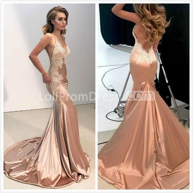 49 Off Elegant Sexy Pink Trumpet Mermaid Sleeveless