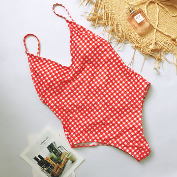 2824dd1d7e7 49%OFF Ariel Sarah Brand Simple Solid One Piece Swimsuit Bathing ...