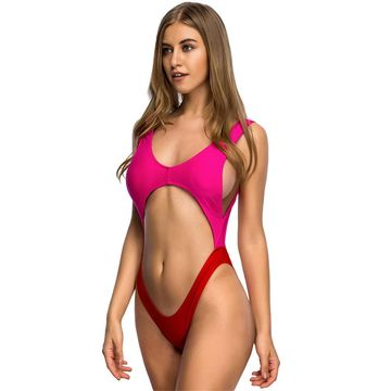 9f01590bb 49%OFF Bather 2019 New tummy cut out Sexy 1 one piece swimsuit Bathing suit  wear swim suit for women swimwear Female Monokini V110 – lolipromdress.com