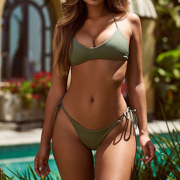 f0bf04c7ac7ea 49%OFF Bikinis Women 2019 Swimwear Thong Swimsuit Girls Sexy Bandage Swimming  Suit Summer Swimsuit Female Halter Beach Bathing Suit – lolipromdress.com