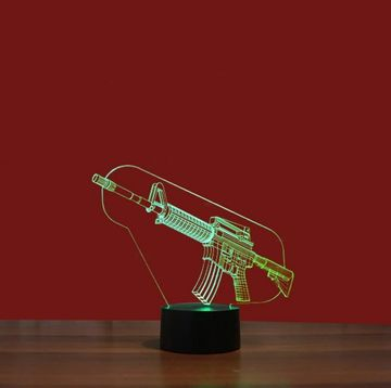 3D Army Creative Visual Lamp