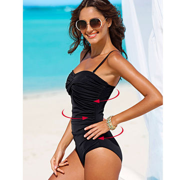 49off Tqskk 2019 Sexy One Piece Swimsuit Plus Size Swimwear Women