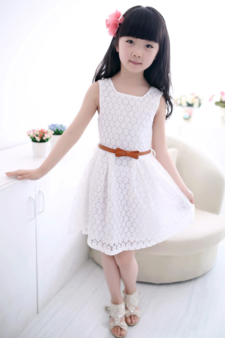 47580808c  15.07 2018 Summer Lace Vest Girls Dress Baby Girl Princess Dress 2 ...