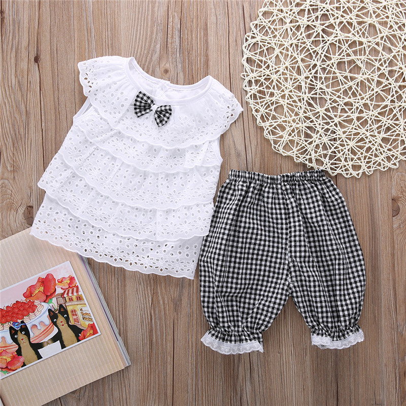 Baby Baby Girls Top And Trousers Set