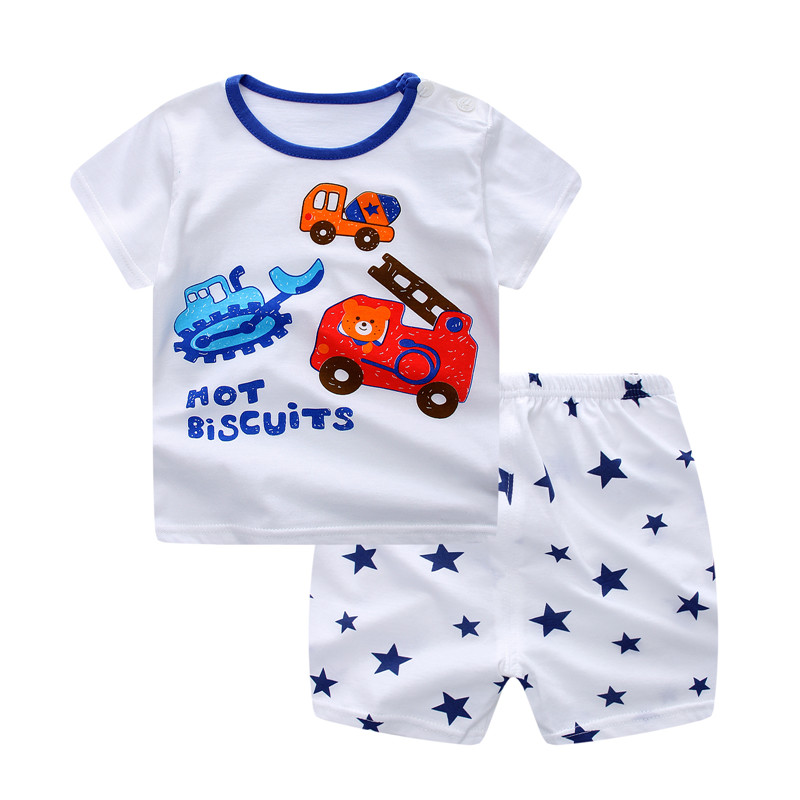 2ee4a5638858 HK 110.14 Baby Boy Clothes Summer 2019 Newborn Baby Boys Clothes Set ...