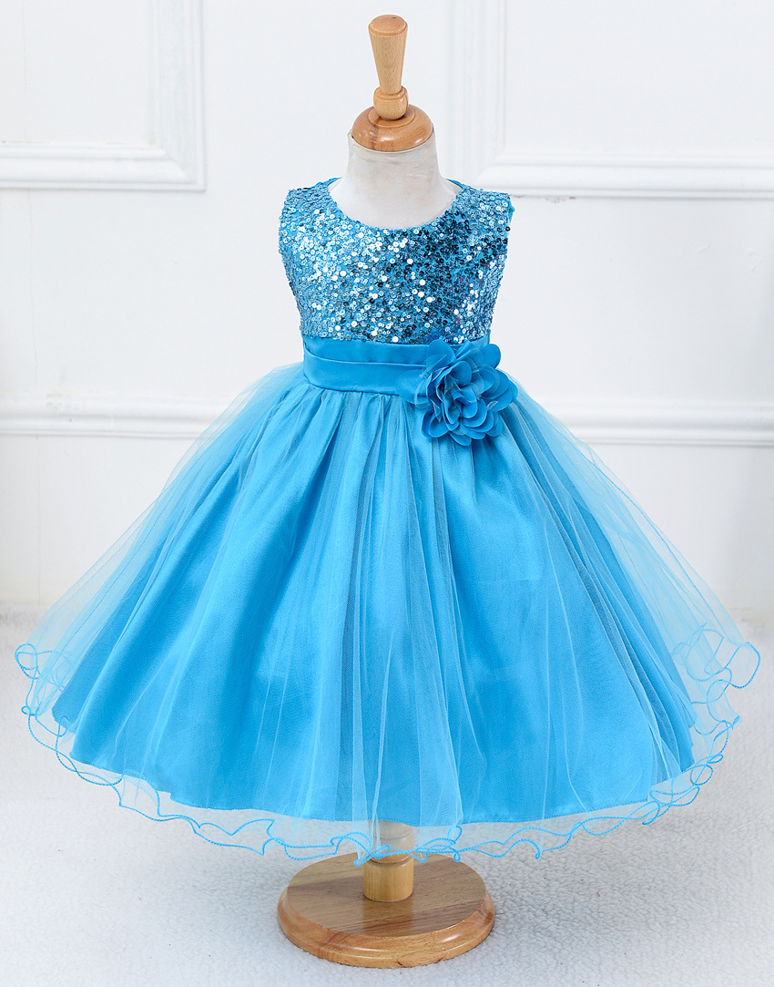 $15.85 Christmas Princess Flower Girl Dress SummerTutu Wedding ...